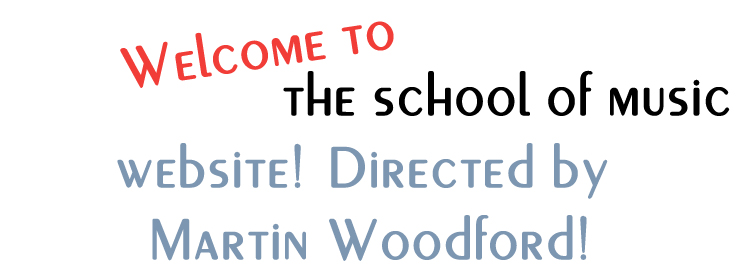 Martin Woodford - School of Music